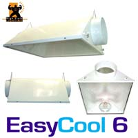 EasyCool 6 Reflector A/C 6 in. with Gasket Seals & Safety lens