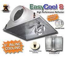 EasyCool 8 Reflector A/C 8 in. with Gasket Seals & Safety Lens