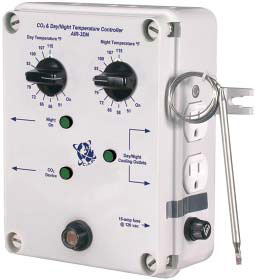 AIR-3DN Day/Night Temp & CO2 Controller