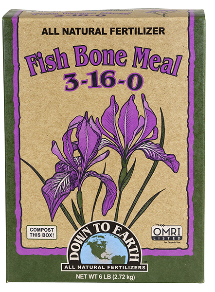 Down To Earth™ Fish Bone Meal 3 - 16 - 0