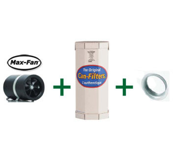 Can-Filter, Flange & Max-Fan Combos