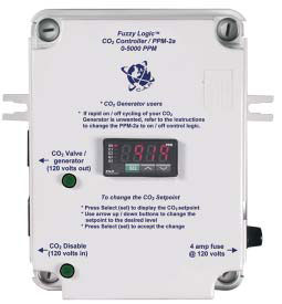 "The ""Fuzzy Logic"" CO2 Controller W/PPM Sensor"