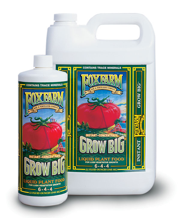 Grow Big Liquid Plant Food (6-4-4)