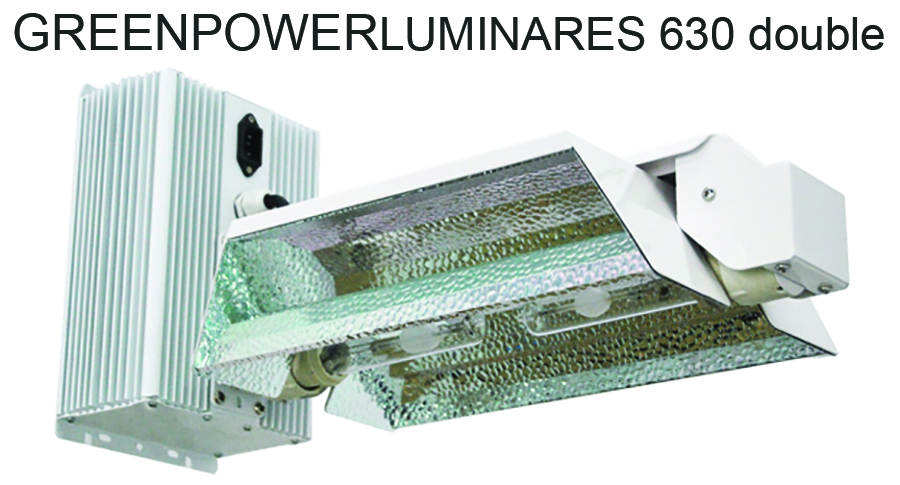 SUPER/SALE  GREENPOWERLUMINAIRES 630 double 240V/120V