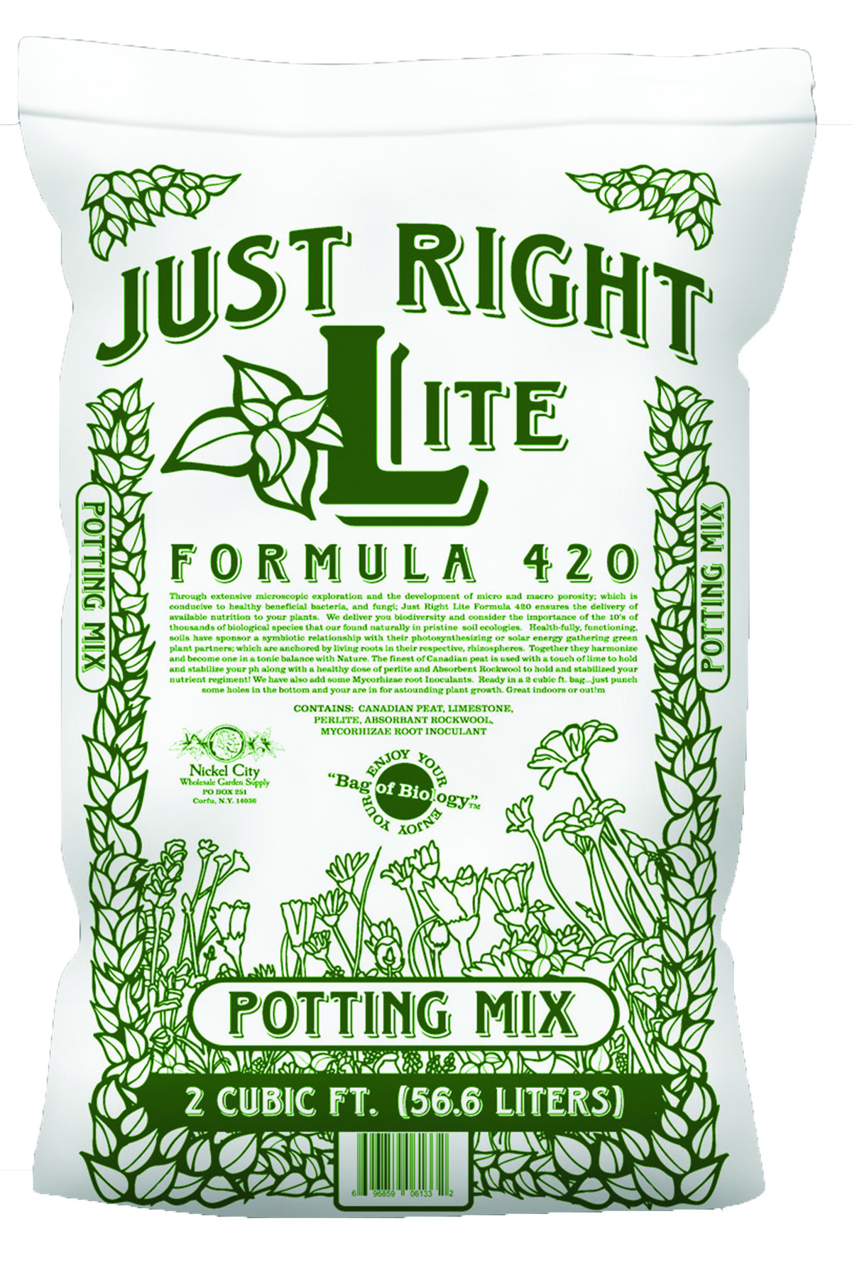 420-Just Right Lite 2 cu. ft. bag