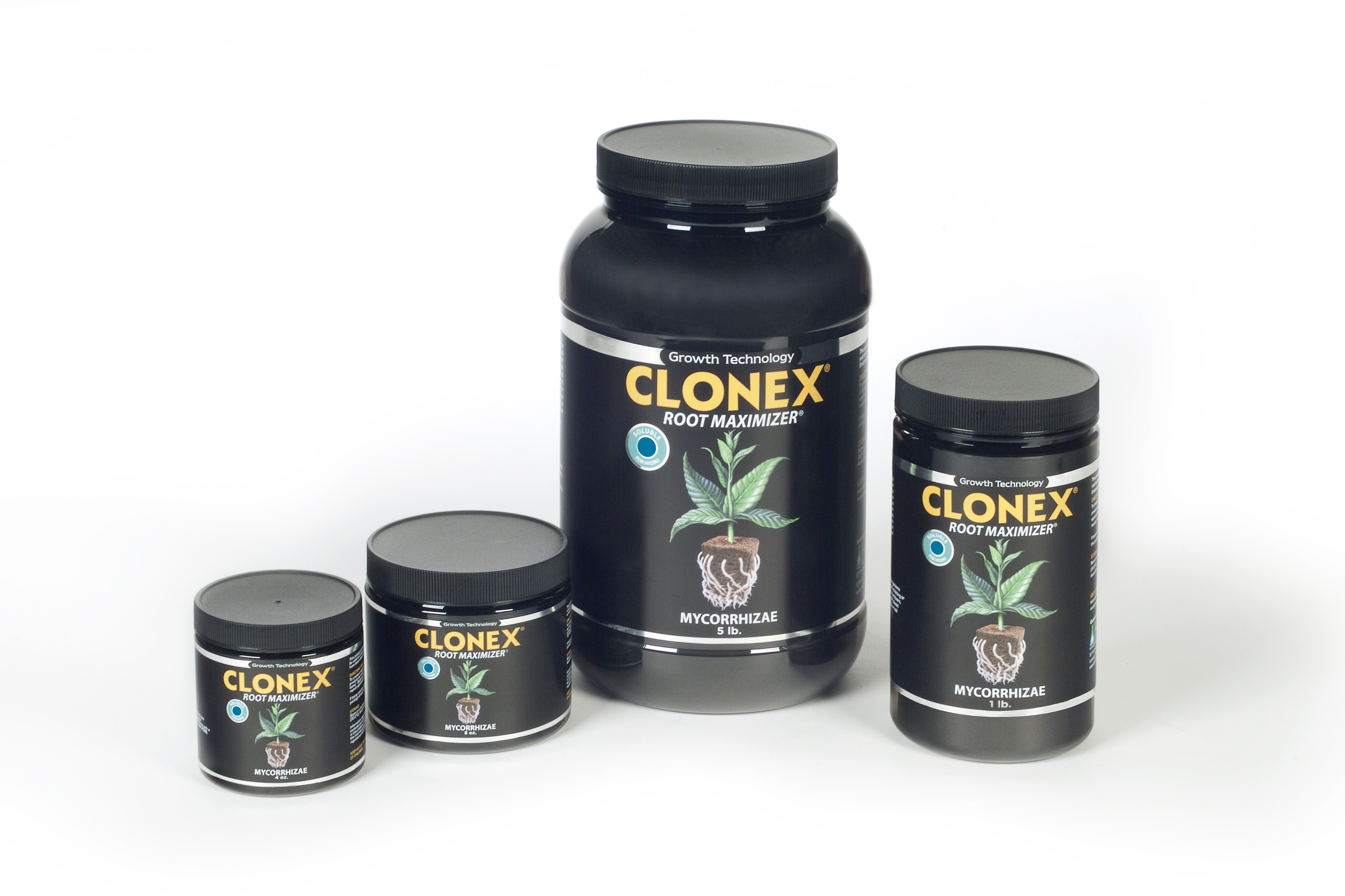 Clonex Root Maximizer Mycorrhizae-Soluble for Hydro.