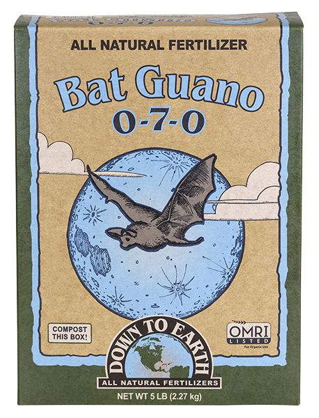 Down To Earth™ Bat Guano 0 - 7 - 0