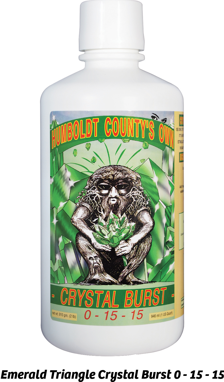Emerald Triangle Crystal Burst 0 - 15 - 15
