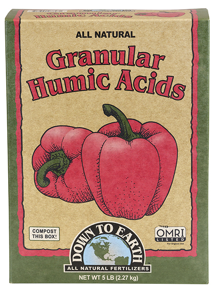 Down To Earth™ Granular Humic Acids