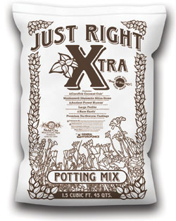 Just Right Xtra All Organic Potting Mix