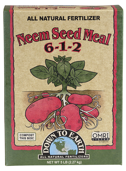 Down To Earth™ Neem Seed Meal 6 - 1 - 2