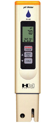 PH-80 Waterproof pH tester