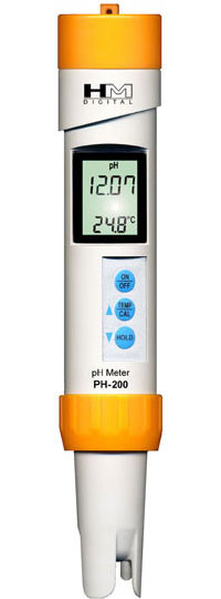 PH-200: Waterproof pH Meter