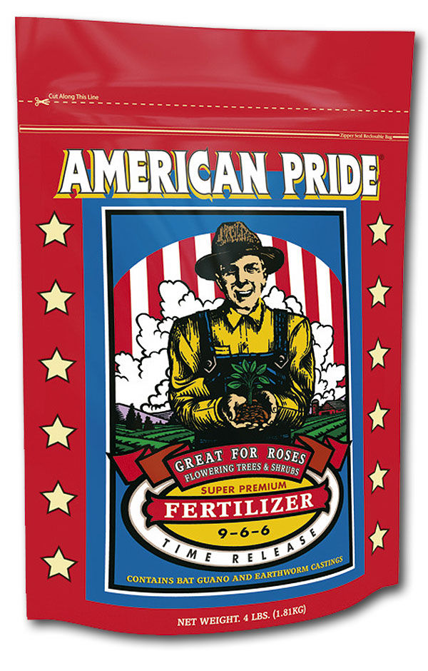 American Pride Time Release Fertilizer (9-6-6) 4lb.