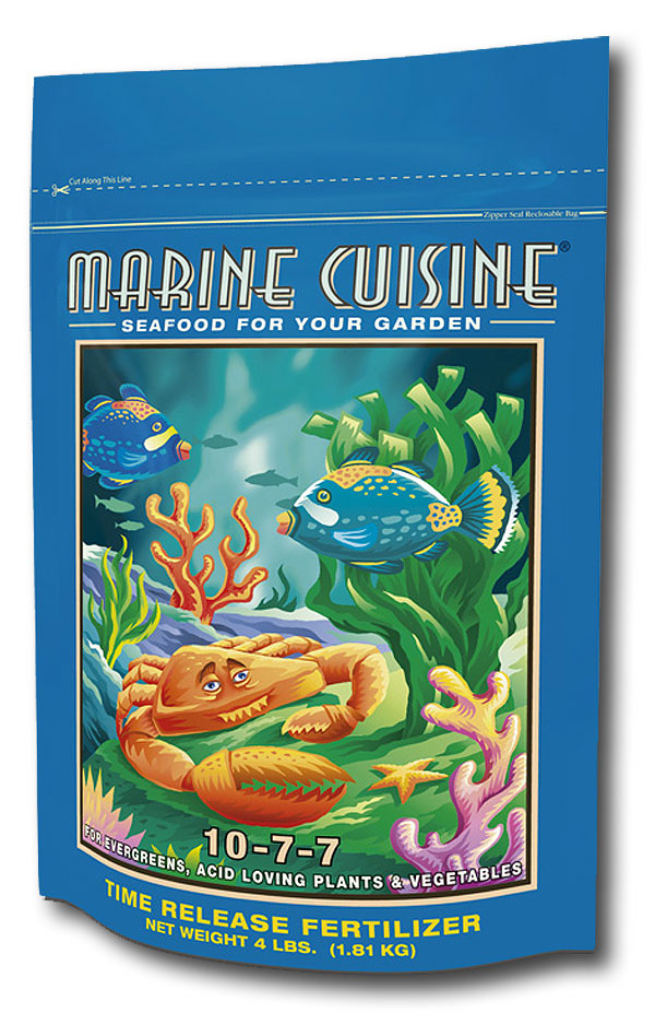 Marine Cuisine Dry Mix Fertilizer (10-7-7) 4lb.