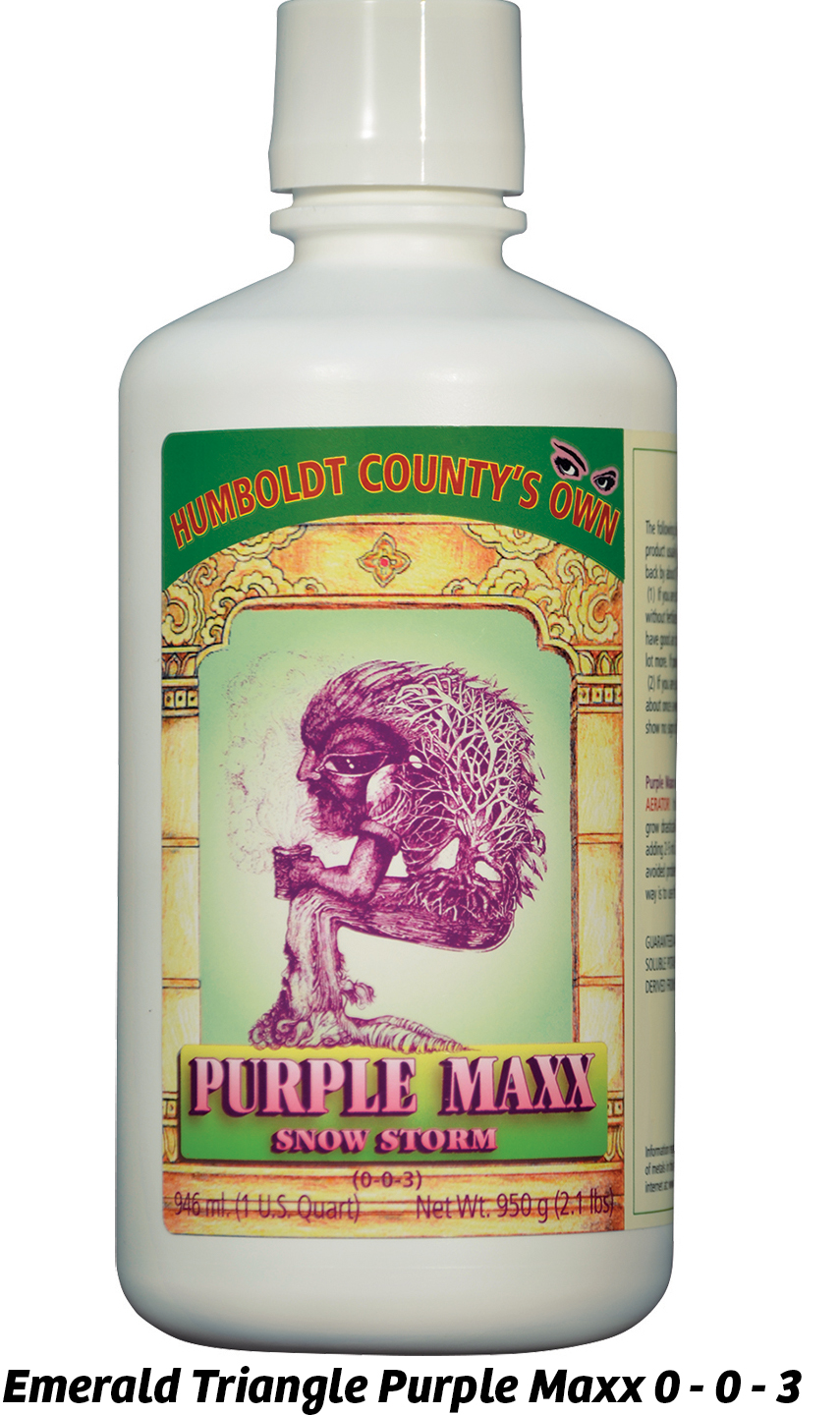 Emerald Triangle Purple Maxx 0 - 0 - 3
