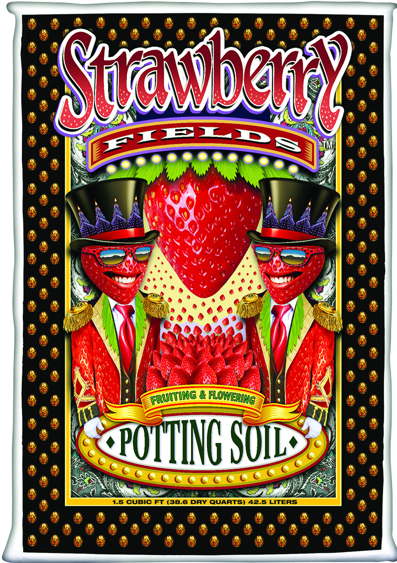 FoxFarm® Strawberry Fields™ Fruiting and Flowering Potting Soil (75/sK)